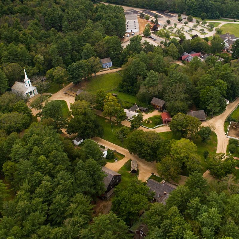 Old Sturbridge Village From Above